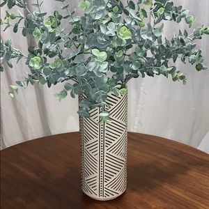 Tribal Print Vase